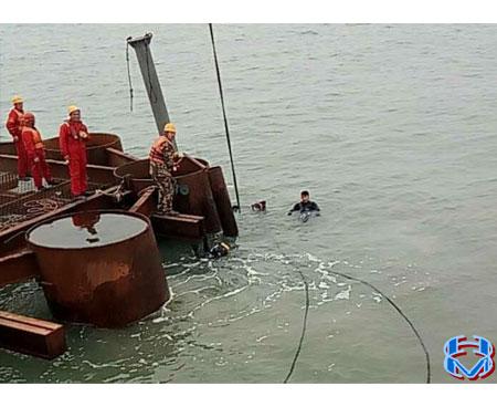 河北风电项目 J 型管安装
